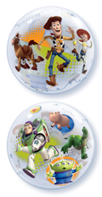"22"" Toy Story Bubble Balloon"