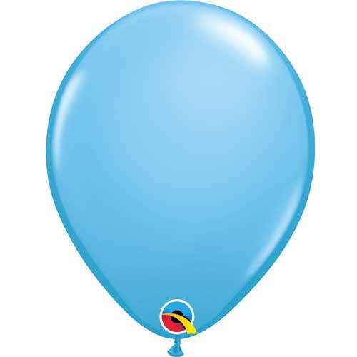 "Qualatex 11"" Standard Pale Blue (Light Blue) Latex Balloon"