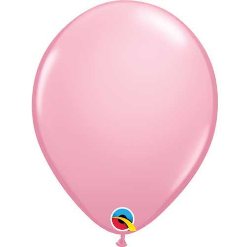 "Qualatex 11"" Standard Pink Latex Balloon"