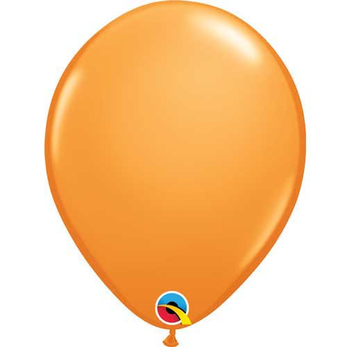 "Qualatex 11"" Standard Orange Latex Balloon"