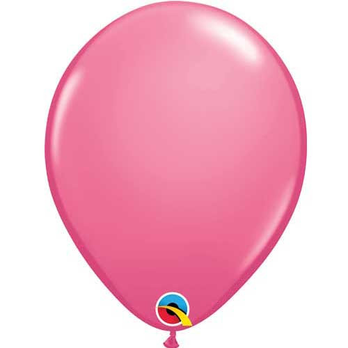 "Qualatex 11"" Standard Fashion Rose Latex Balloon"