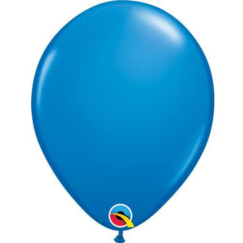 "Qualatex 11"" Standard Dark Blue Latex Balloon"