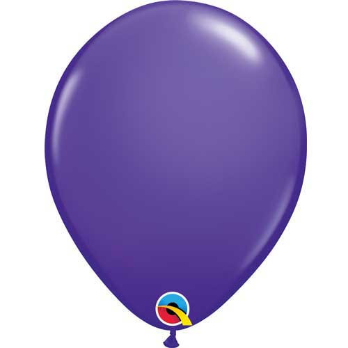 Qualatex 11 Standard Fashion Purple Violet Latex Balloon