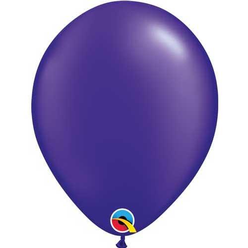 """Qualatex 11"""" Metallic Pearl Quartz Purple Latex Balloon"""