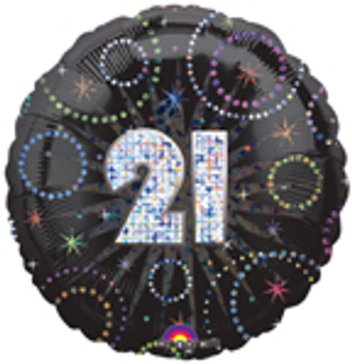 "18"" A Time To Party 21st Birthday Balloon"