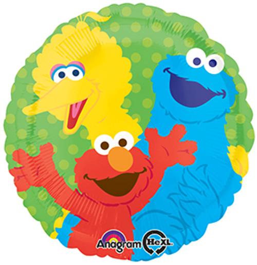 """17"""" Sesame Street Gang Balloon"""