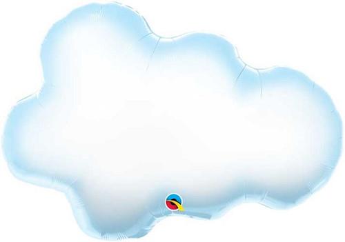 """30"""" Puffy Cloud Super Shape Balloon"""
