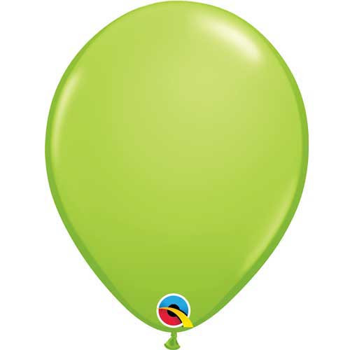 "Qualatex 11"" Standard Fashion Lime Green Latex Balloon"
