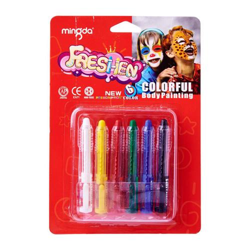Face Paint Makeup Sticks 6pcs per pack