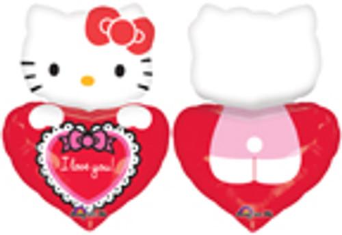 """29"""" Hello Kitty Lovin' Super Shape Balloon"""