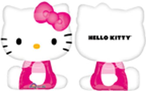 "27"" Hello Kitty Side Pose Super Shape Balloon"