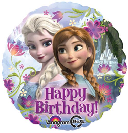 "17"" Disney Frozen Happy Birthday Balloon"