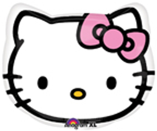 "18"" Hello Kitty Head Junior Shape Balloon"