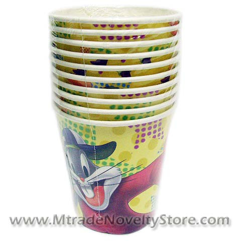 Looney Tunes Paper Cups