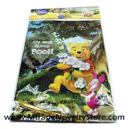 Winnie The Pooh Favor Bags