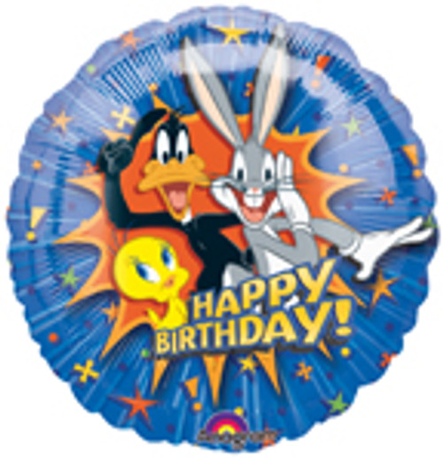 "18"" Looney Tunes Happy Birthday Explosion Balloon"