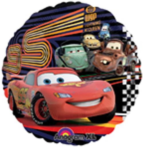 """17"""" Disney Cars 2 McQueen & Group Balloon"""