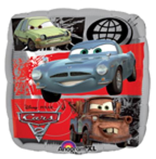 "18"" Disney Cars 2 Square Balloon"