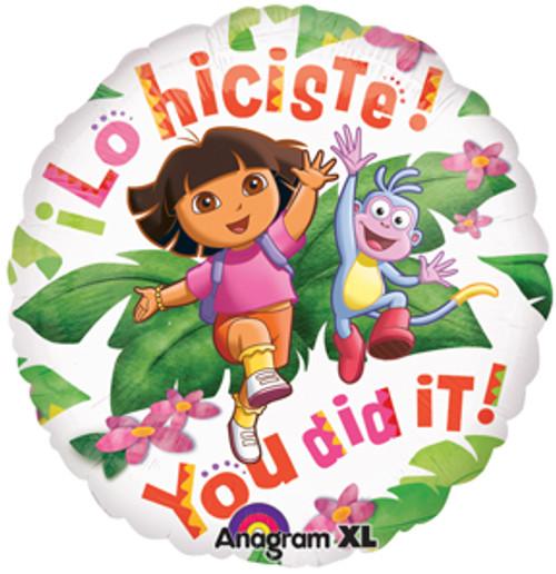 "18"" Dora You Did It Balloon"
