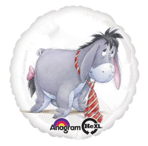 "17"" Eeyore with Tie Balloon"