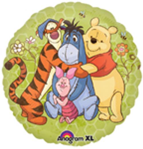 """18"""" Winnie The Pooh & Friends Balloon"""