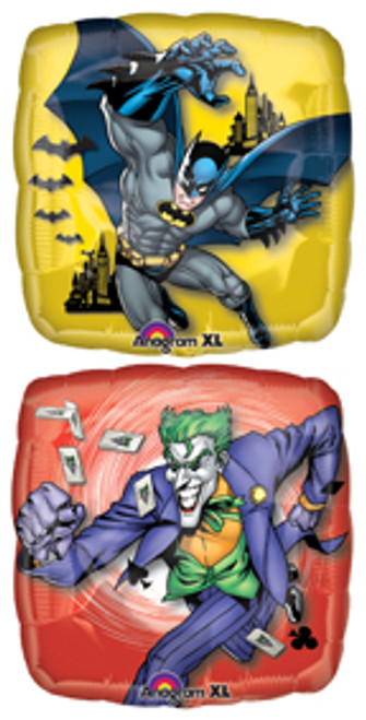"18"" Batman & Joker Square Balloon"