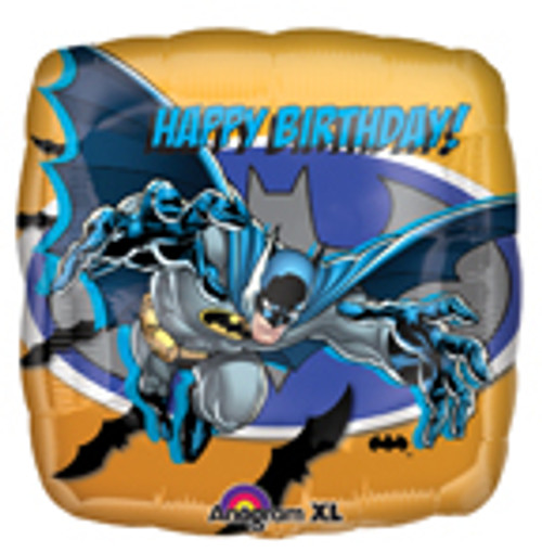 "18"" Batman Happy Birthday Square Balloon"
