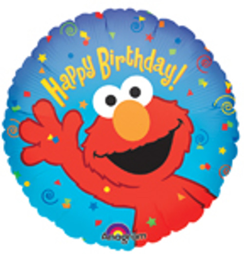 "18"" Elmo Happy Birthday Balloon"