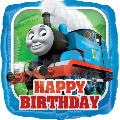 "17"" Thomas Birthday Square Balloon"
