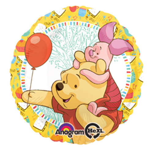 "17"" Pooh & Piglet Celebration Balloon"