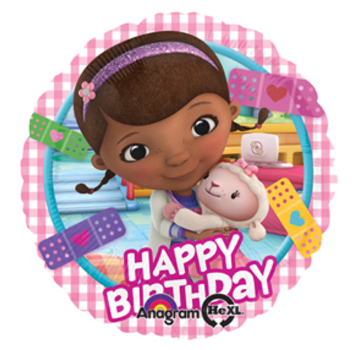 "17"" Doc McStuffins Birthday Balloon"