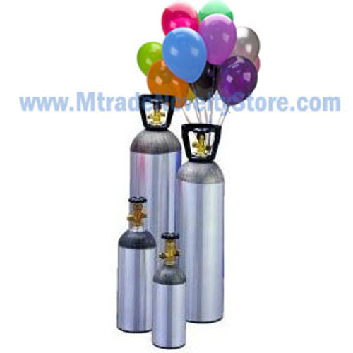 35 Balloons Helium Tank
