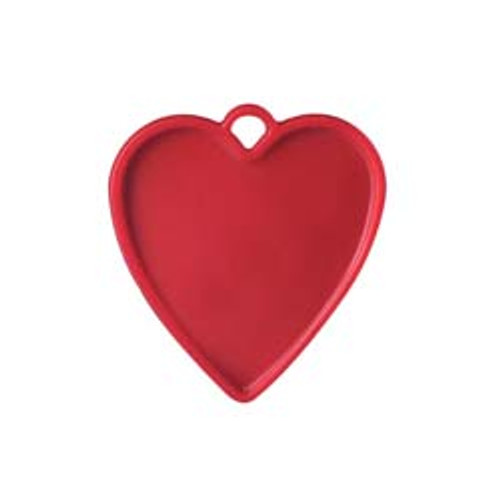 8g Red Heart Balloon Weight