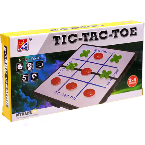 Magnetic Board Game Tic-Tac-Toe