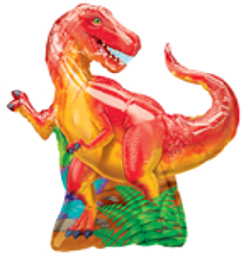 "31"" Dinosaur Party Super Shape Balloon"