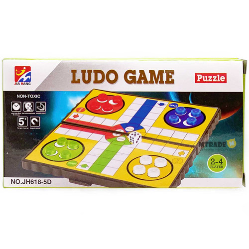 Magnetic Board Game LUDO Game