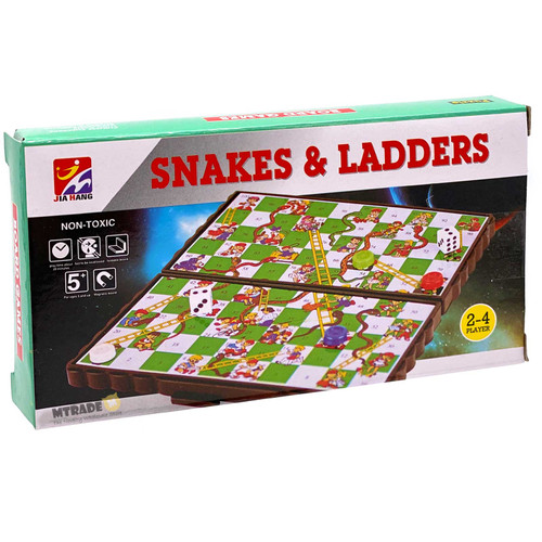 Magnetic Board Game Snakes & Ladders
