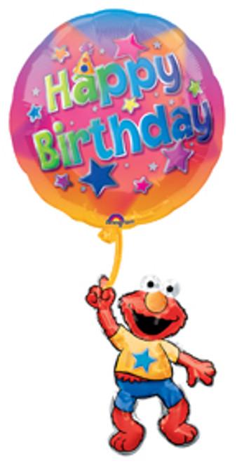 "39"" Elmo Floating Happy Birthday Super Shape Balloon"