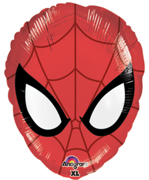 "18"" Ultimate Spiderman Head Junior Shape Balloon"