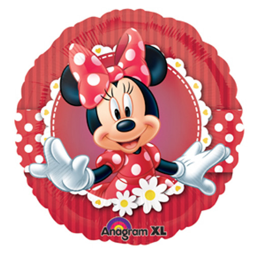 "17"" Mad about Minnie Balloon"