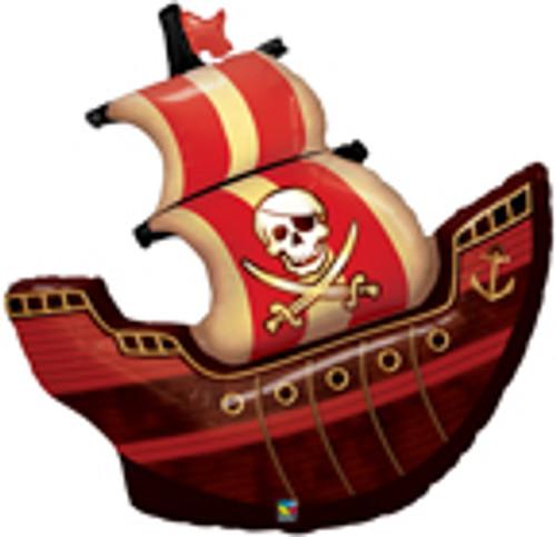 "40"" Pirate Ship Super Shape Balloon"