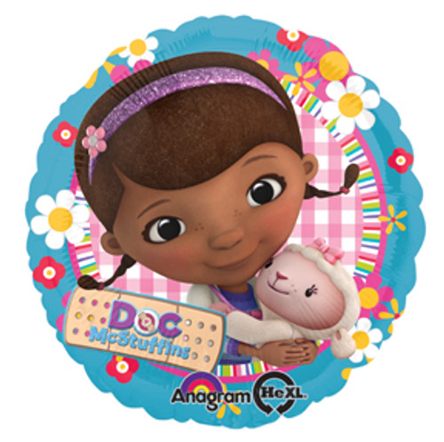 "17"" Doc McStuffins Balloon"
