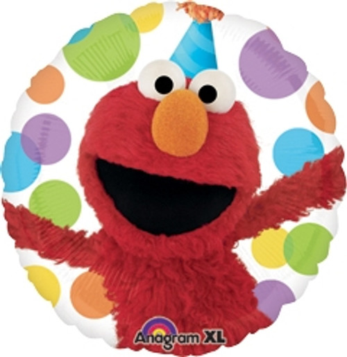 "18"" Sesame Street Elmo Party Hat Balloon"