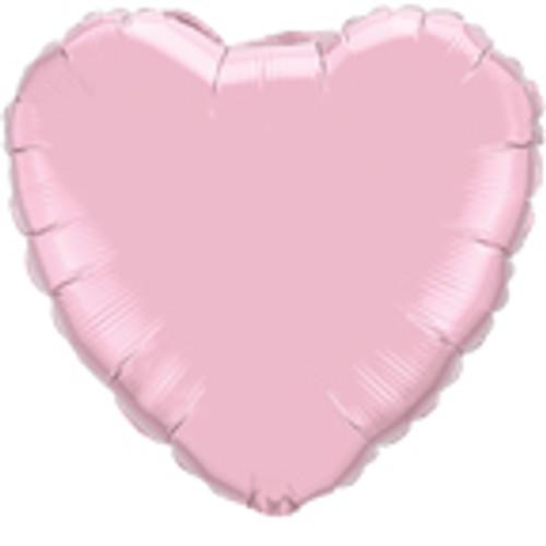 "36"" Pearl Pink Heart Foil Balloon"