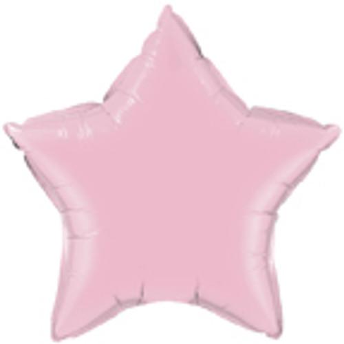 "36"" Pearl Pink Star Foil Balloon"