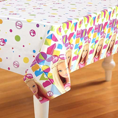 "Barbie Tablecover 54""x 96"""