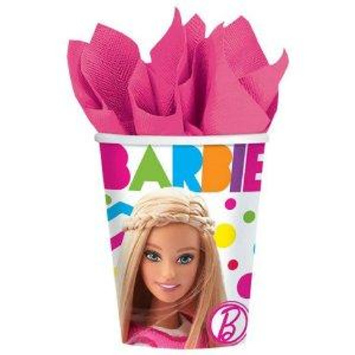 Barbie Paper Cups
