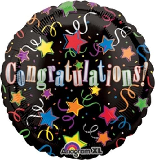 """32"""" Congrats Stars Jumbo Balloon"""