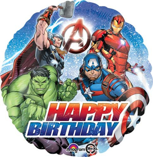 "17"" Avengers Birthday Balloon"