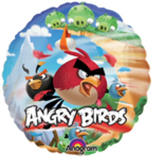 "9"" Angry Birds Air Filled Balloon"